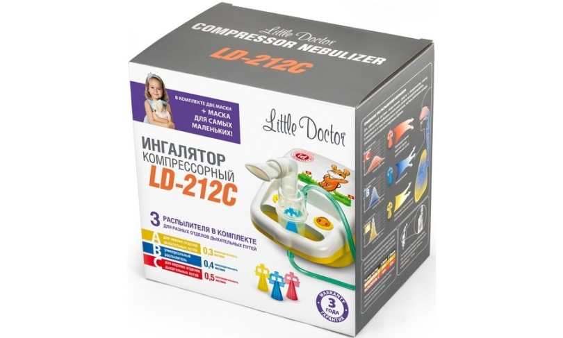 Ингалятор LITTLE DOCTOR LD-212C